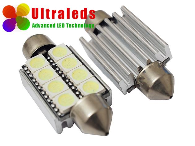 Żarówka LED canbus rurka 42 mm 8 SMD 5050 radiator